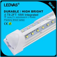 cooler pack - LEDVAS Pack W V Shaped Integrated T8 LED Tube Lights mm Lamp Bulb feet m Ft AC85 V Led Lighting