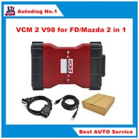 automotive green - V98 VCM II IDS Diagnosis tool green single Board For Fd Mazda VCM VCM2 OBD2 Scanner