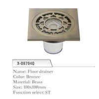 Wholesale Brass Floor Drainer mm Shower Floor Drain Grate Bronze X D8704Q