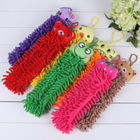 Wholesale Manufacturers chenille creative cartoon animals clean duster chenille duster removal dust g