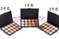 Wholesale Factory Direct DHL New Makeup Face Colors Concealer Palette Different Colors
