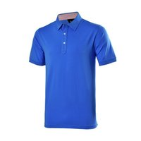 Wholesale Golf Sportswear Men Breathable Short Sleeve Outdoor Sport T Shirt Male Quick Drying Golf T Shirt High Quality Polo Shirts