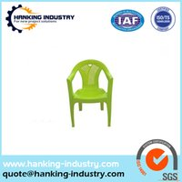 aluminum garden chair - China Mold factory new design high quality plastic chair mould garden plactic chair plastic rapid prototyping parts machine