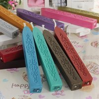Wholesale Pc Vintage Cord Wick Vintage Sealing Wax Sticks Seal For Letter Wedding Invitations Multicolors mm