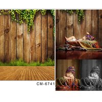 backdrop board - Digital Printing Photography Backdrops Retro Board Wood Floor For Baby Bhotography Background Photographic Studio Background