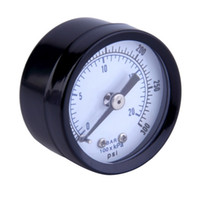 air pressure gauge liquid - quot NPT Air Pressure Gauge Liquid Filled PSI Back MT quot FACE Stock Offer