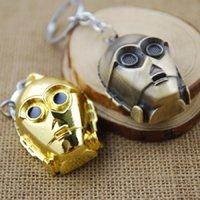 Wholesale NEWVI Star Wars Movie Keychain Key Chain Key Ring Holder Keyring Porte clef Gift Men Women Souvenirs MV001