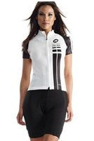 Wholesale Pro Team Women Assos Jerseys Short Sleeve Lady SS Rapha Cycling Jersey Cycling Bib Shorts Sets Outdoor Bicycle Sports Cycling Clothing