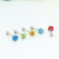 Wholesale stud earing stainless steel puncture jewelry