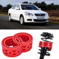 Wholesale 2pcs Super Power Rear Car Auto Shock Absorber Spring Bumper Power Cushion Buffer Special For Skoda Octavia