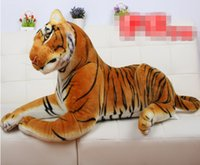 baby tiger stuffed animal - Animals Tiger Stuffed Plush Toy Dolls CM Children Baby Kids Birthday Gift Home Car Decoration Tiger Stuffed Toys