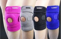 Wholesale 4colors Outdoor mountaineering sports kneepad kneepads lightweight breathable running sports spring riding kneepad