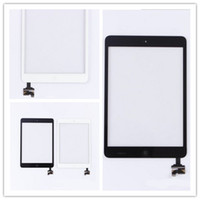Wholesale Tablet Pc Qindows Complete Touch Screen Digitizer Assembley with IC for iPad Mini Mini Touch Panel with home button Black White AF693