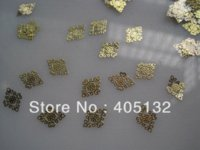 Wholesale MS Metal Gold Nail Art Metal Sticker Nail Art Decoration Fancy Outlooking stickers king