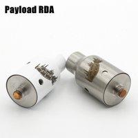 Modificadores de carga útil RDA atomizadores RBA clonador 1: 1 Rebuildable Dripping Atomizer 22mm vaporizador de centro de cobre para montaje Apto para 510 Thread vape mod battery