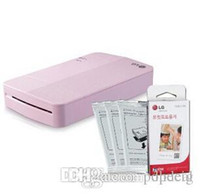 Wholesale Printer Paper SET New LG Pocket Photo Printer PD251 LG Zink Sticker Photo Paper