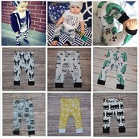 Wholesale Newborn Months Baby Boy Girls cartoon Baggy Trousers PP Bottoms Slacks