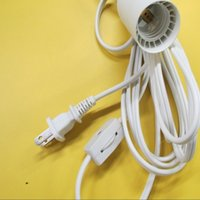 Wholesale Stock hot selling UL Approved Salt Lamp US PIn Power Cord with Switch for whoe sales