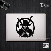 Wholesale V for vendetta macbook stickers macbook skin macbook decal laptop decal Vinyl sticker Air Pro retina