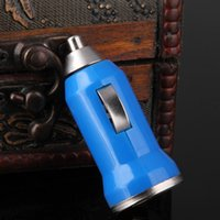 Wholesale Mini USB Car Charger Universal Colorful Auto Charger Adapter for iPhone Samsung HTC Cell Mobile Phone iPad