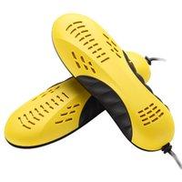 Wholesale 220V W EU plug Race car shape voilet light shoe dryer foot protector boot odor Deodorant device shoes drier heater
