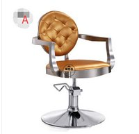 barber styling chairs - Gold euramerican style design Hairdressing chair Barber chair