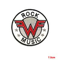 Новый Weezer SEW, IRON на заплате ВЫШИТАЯ Инди Рок музыка Power Pop Punk Emo