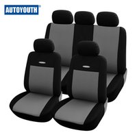 Wholesale High Quality Car Seat Covers Universal Fit Polyester MM Composite Sponge Car Styling lada car covers seat cover accessories