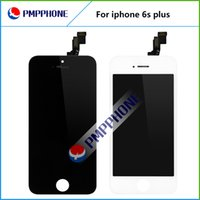 Bon Marché Noir apple iphone-Meilleur remplacement de qualité AAA pour iphone 6s plus 5,5 pouces LCD DISPLAY écran tactile numériseur assemblage couleur noir blanc livraison gratuite