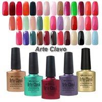 arte fashion - Fashion Colors Arte Clavo Nail Art Soak Off UV Gel Nail Polish Base Top Coat ml