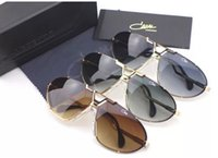 aviator gold - Aviator Sunglasses Cazal Vintage col Gold Green