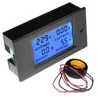 Digital Only AC Others Wholesale-Original New LCD AC 80-260V 0-100A Digital Voltage Volt Current Meter Panel Power Energy Stock Offer