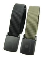 M; L active pet - Men Eco friend PET leisure belt with plastic buckle soft and super light belt metal free security friendly
