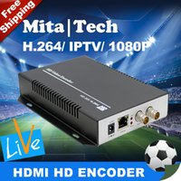 Wholesale H SD HD G SDI To IP Encoder Video Streaming Encoder IPTV Live Streaming RTSP RTMP Encoder For Youtube