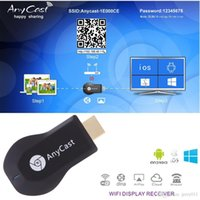 Wholesale DLNA P Wi Fi Display Mini M2 Plus AnyCast TV Dongle Receiver Airmirror Airplay Miracast Easy Sharing HDMI TV stick for HDTV