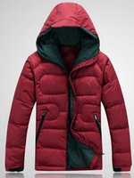 Wholesale new top quality men s white duck down jacket winter warm outdoor sports brand down jackets fashion warm winter coat parka