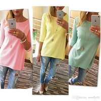 Wholesale Women T shirt Summer Short Sleeve Slim Ladies Casual Sleeve women clothes Loose Sexy Lady t shirts for women
