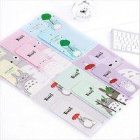 Wholesale set Cartoon Totoro series Envelope letter paper set writting set gift bag office school stationery supplies