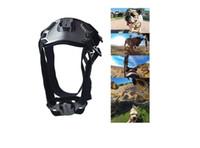 Arnés del animal doméstico del perro parte posterior del pecho del montaje de la correa de accesorios Solicitado para la cámara GoPro héroe 1 2 3 4 3+