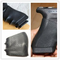 airsoft pistol accessories - Tactical Pistol Rubber Grip Glove Cover Sleeve Anti Slip for Most of Glock Airsoft Hunting Accessories
