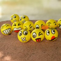Wholesale Emoji Faces Squeeze Stress Ball toy Hand Wrist Finger Exercise Stress Relief Styles party gifts kids baby children toys