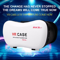 Wholesale VR Case RK5th Version Virtual Reality Glasses D Video Movies Games for inch Smart Phone