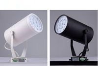 aluminum recesses lighting - LED light W W W W W W W track Back Recess lighting V V aluminum white black shell rail light High Quality