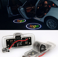 accord projector - 2pcs car LED projector logo lights door Ghost shadow welcome light for Honda Accord Accord Crosstour