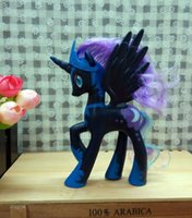 Wholesale My Pony Friendship Is Magic Action Toy Figures Hobbies Unicorn Horse Cartoon Model Little Cute Pony Nightmare Night Toys Action Figures