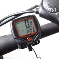 Wholesale Hot Cycling Computer Leisure Multifunction Waterproof Odometer Speedometer With LCD Display Bike Speedometer Bicycle Cycling Computer