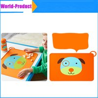Wholesale Baby Silicone Placemat Waterproof Table Mat for Children Non Slip Place Mats Pad Infant Diner Portable Placemats