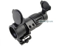 airsoft magnifier - Airsoft Paintball X FXD Magnifier with Adjustable QD Mount Outdoor Military Tactical Magnifier Black Dark Earth order lt no t