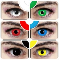 Wholesale Color Options Crazy Lenses for Holloween Cosplay and Party Pure Color Contact Lenses