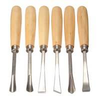 Wholesale 6pcs Graver Woodcarving Knife Woodworking Chisel Wood Carving Tool